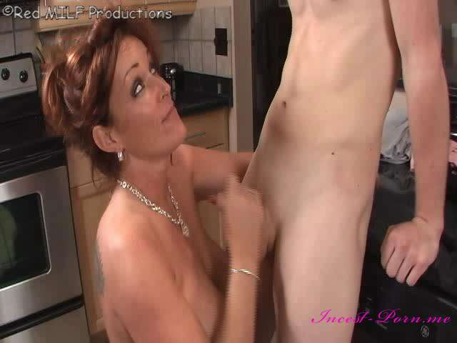 Milf seducing sons friend