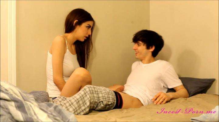 real incest porn ChloeNight-Perverted older brother seduces sister-Manyvids