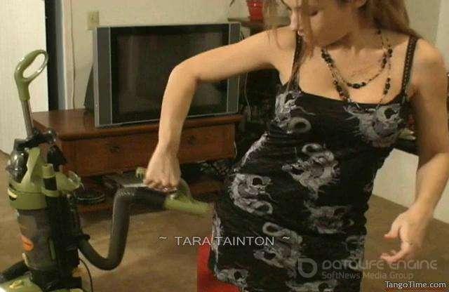 Tara Tainton-I'm Getting Naughty with the Vacuum Cleaner-clips4sale