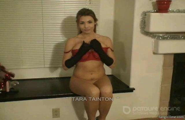 Tara Tainton-Stripping Down for You to Only My Long Satin Gloves-Part 1-clips4sale