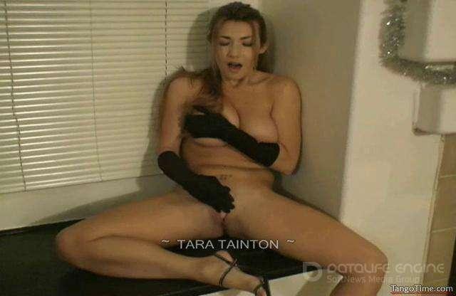 Tara Tainton-Stripping Down for You to Only My Long Satin Gloves-Part 3-clips4sale