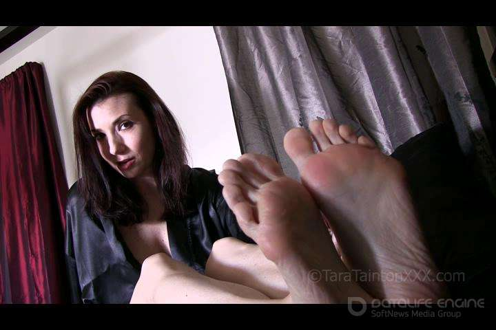 Tara Tainton-Tucking You into Bed with My Tender Toes-clips4sale
