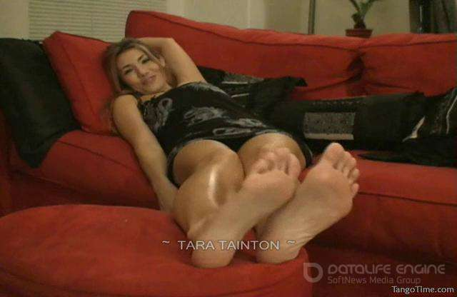Tara Tainton-You're Going to Come for Me All Over My Sexy Feet-clips4sale