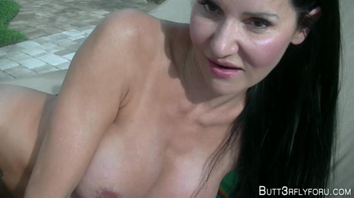 Butt3rflyforU-Poolside Facial-clips4sale