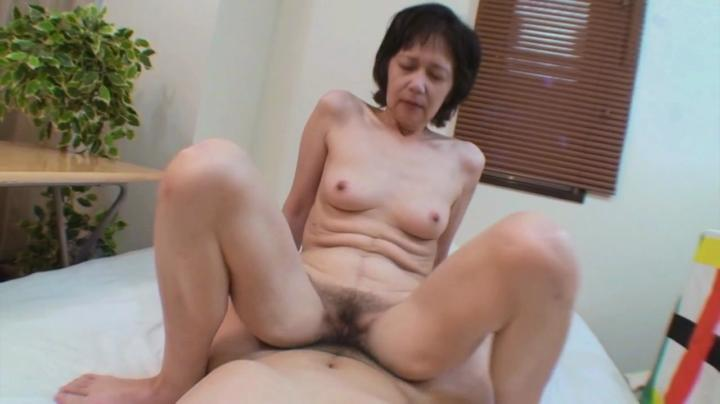 adultcandystore real asian grandma rides cock till cums