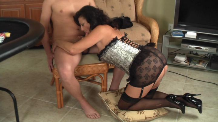 a taboo fantasy bend over mom