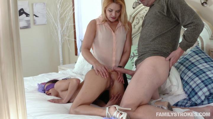 real incest porn Liv Revamped Watching my stepdaughter and wife get along