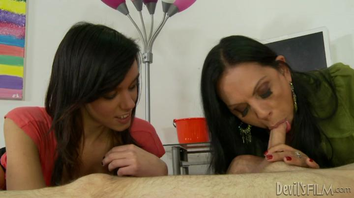 Adulttime-Mothers Teaching Daughters How To Suck Cock 13