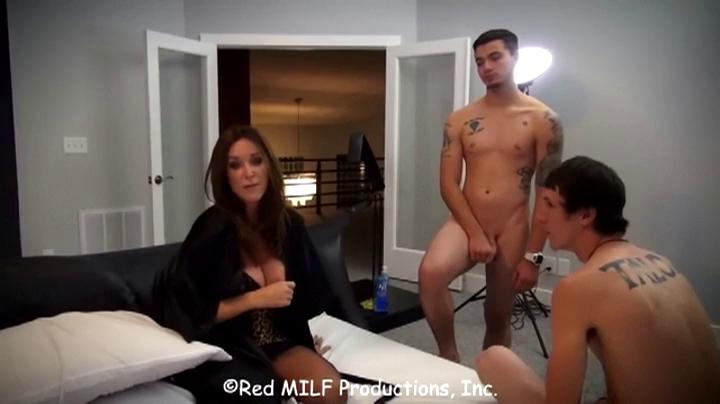 Rachel Steele-Mother and Two Sons